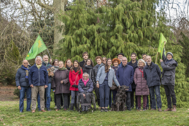 Le groupe local Europe Ecologie les Verts à Boulogne Billancourt