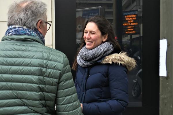 En campagne avec Pauline Rapilly Ferniot par Le Journal du Grand Paris