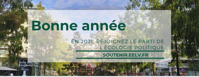 [VIDÉO] Les écologistes vous souhaitent une meilleure année 2021