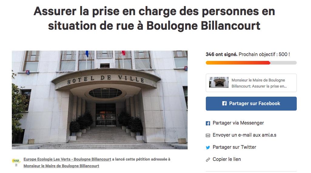 [COVID19] Une pétition pour loger les sans-abris pendant le confinement