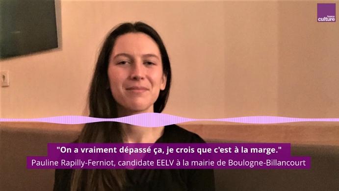 Pauline Rapilly Ferniot sur France culture pour parler des femmes en politique