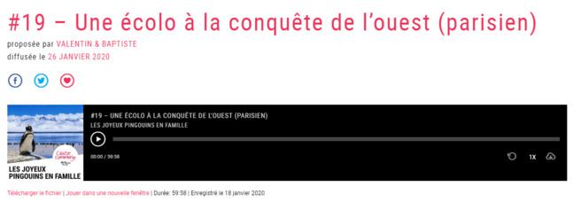 """""""Une écolo à la conquête de l'ouest (parisien)"""""""