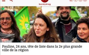 """""""Pauline, 24 ans, tête de liste dans la 2e plus grande ville de la région"""" (Bondy Blog)"""