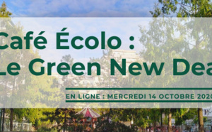 Café Ecolo (en ligne) - Le Green New Deal