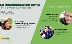 Café écolo - Désobéissance civile pour le climat et la justice sociale